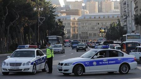 Dispositivo de seguridad en Bakú los días previos al festival